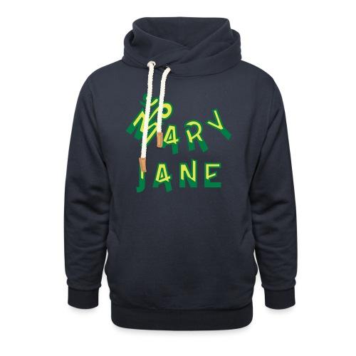 Mary Jane - Shawl Collar Hoodie