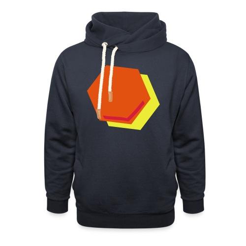 detail2 - Unisex sjaalkraag hoodie