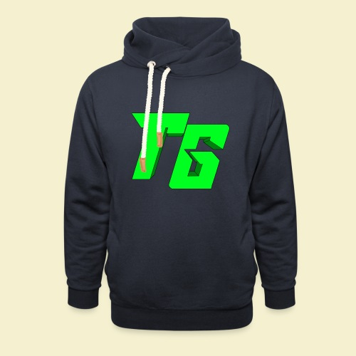 TristanGames logo merchandise [GROOT LOGO] - Sjaalkraag hoodie