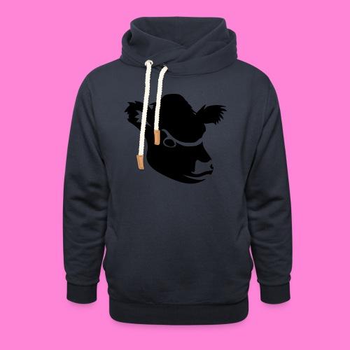 gallowayhoofd1 - Sjaalkraag hoodie