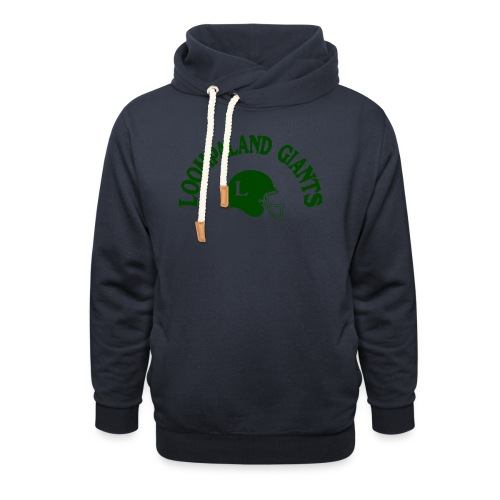 Willy Wonka heeft een team - Sjaalkraag hoodie