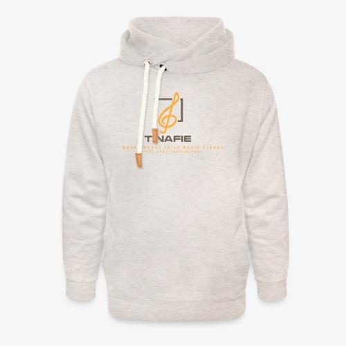 Where Words fails Music speaks!!! - Unisex hoodie med sjalskrave