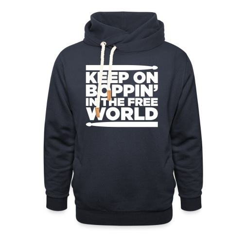 Keep on Boppin' - Shawl Collar Hoodie