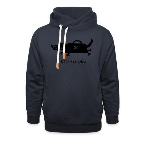 Handtaschenkrokodil - Schalkragen Hoodie