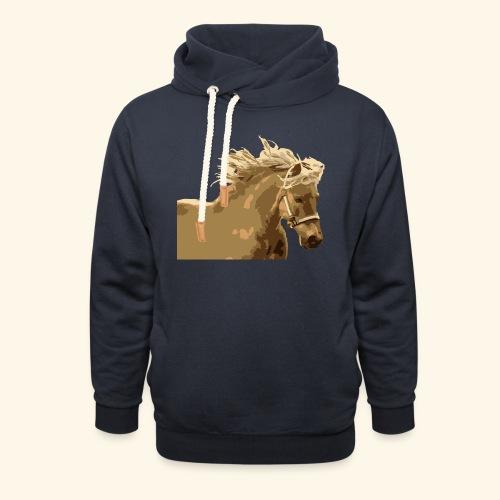 shetland - Schalkragen Hoodie