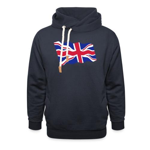UK / United Kingdom - Sjaalkraag hoodie