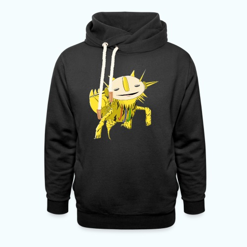 SPIKIE 80s Comic - Shawl Collar Hoodie
