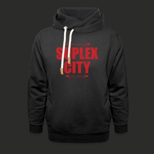 Suplex City Mens T-Shirt - Shawl Collar Hoodie