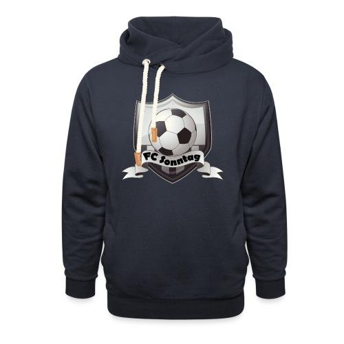FC Sonntag Logo - Unisex Schalkragen Hoodie