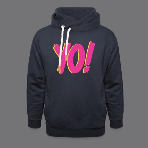 YO Tee Shirts - Shawl Collar Hoodie