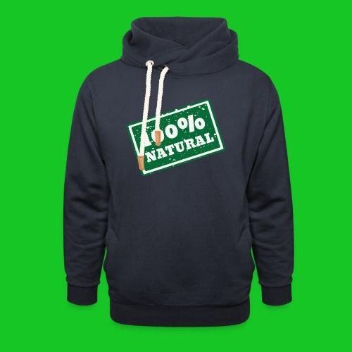 100% natural PNG - Sjaalkraag hoodie