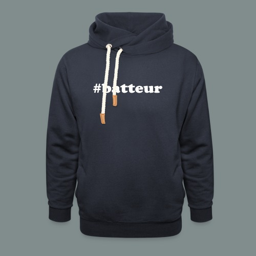 #batteur - Sweat à capuche cache-cou