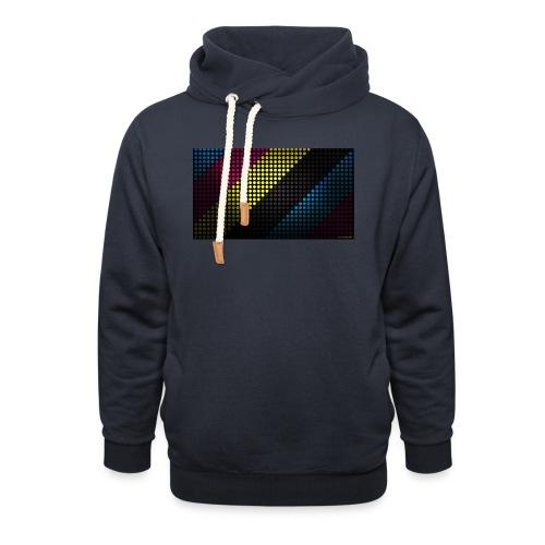 techno_dots_y_t_f-jpg - Shawl Collar Hoodie