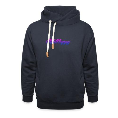 T-shirt AltijdFlappy - Sjaalkraag hoodie