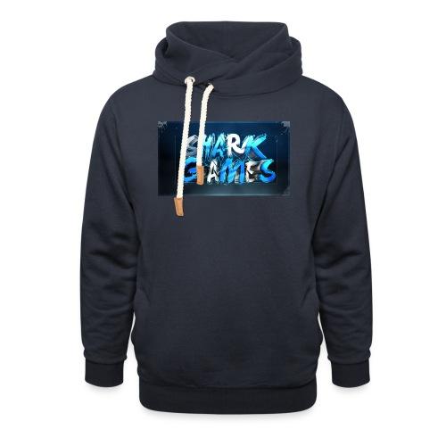 SharkGames - Felpa con colletto alto