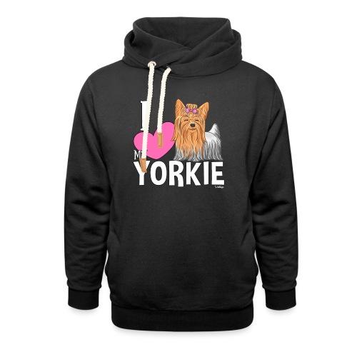 I love my Yorkie - Unisex huivikaulus huppari