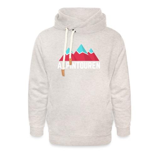 Alpintouren Logo - Unisex Schalkragen Hoodie