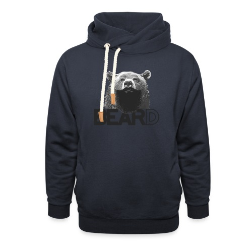 Bear and beard - Shawl Collar Hoodie