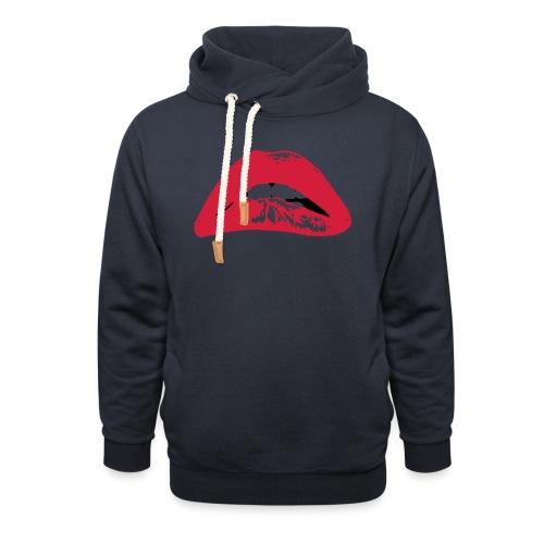 horror - Sjaalkraag hoodie