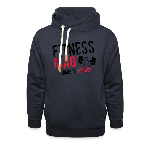 Fitness Mag made in corsica 100% Polyester - Sweat à capuche cache-cou