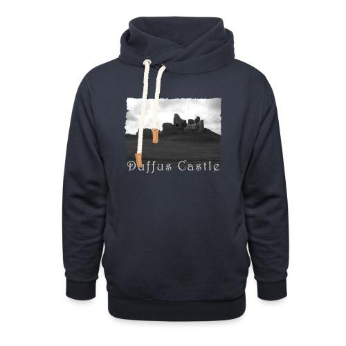 Duffus Castle #1 - Unisex Schalkragen Hoodie