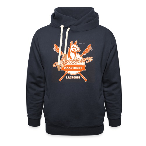 Llamas - Maastricht Lacrosse - Oranje - Sjaalkraag hoodie