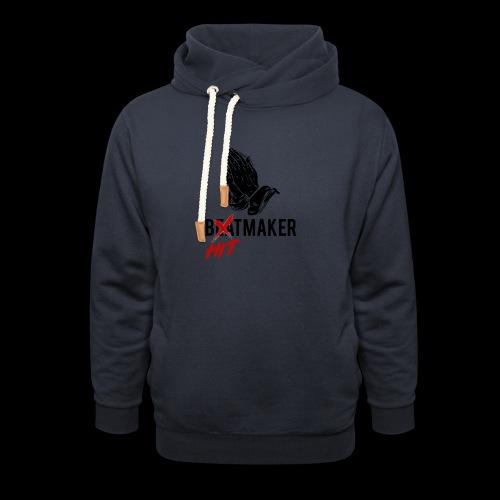 HitMaker Noir - Sweat à capuche cache-cou