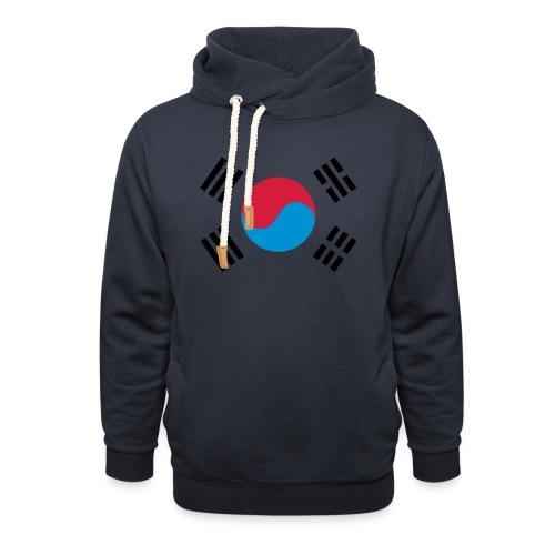 South Korea - Sjaalkraag hoodie