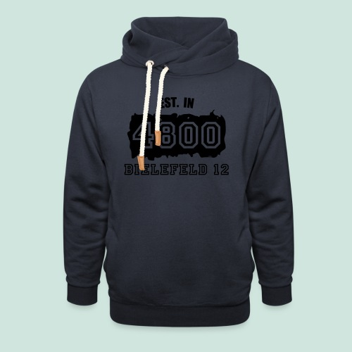 Established 4800 Bielefeld 12 - Schalkragen Hoodie