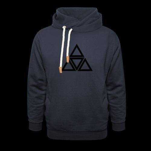 triangle - Felpa con colletto alto