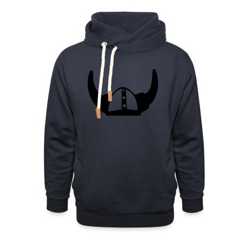 Viking Helmet - Unisex hoodie med sjalskrave