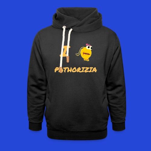 Love Pathorizia - Felpa con colletto alto unisex