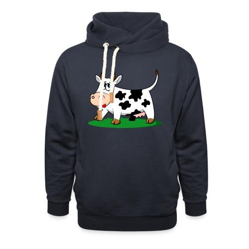 cow-1501690 - Sudadera con capucha y cuello alto
