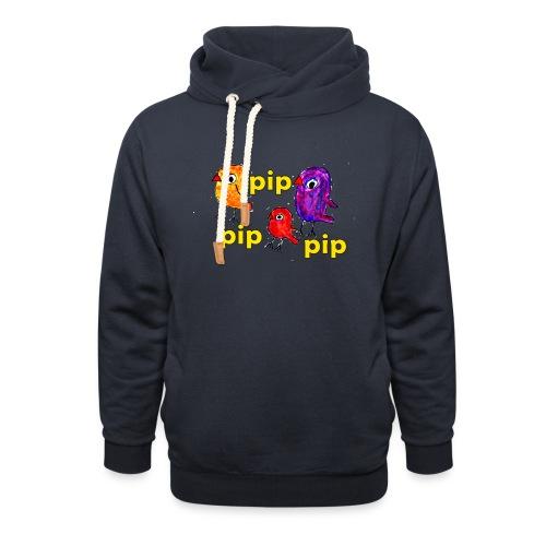 3er original pip pip pip gelb - Unisex Schalkragen Hoodie