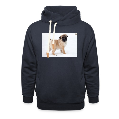 walker family pug merch - Shawl Collar Hoodie