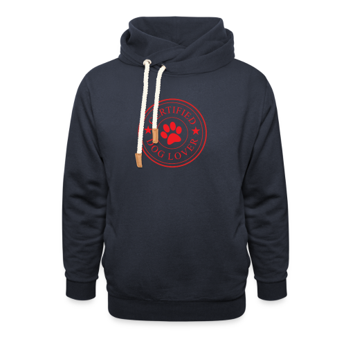 Zertifizierter Hundeliebhaber | Hund Liebe Dog - Schalkragen Hoodie