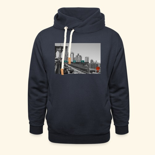Brooklyn bridge - Felpa con colletto alto unisex
