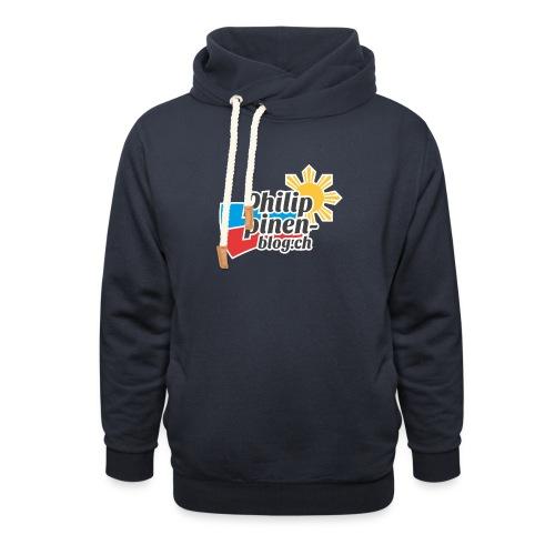 Das original Philippinen-Blog Logo - Schalkragen Hoodie