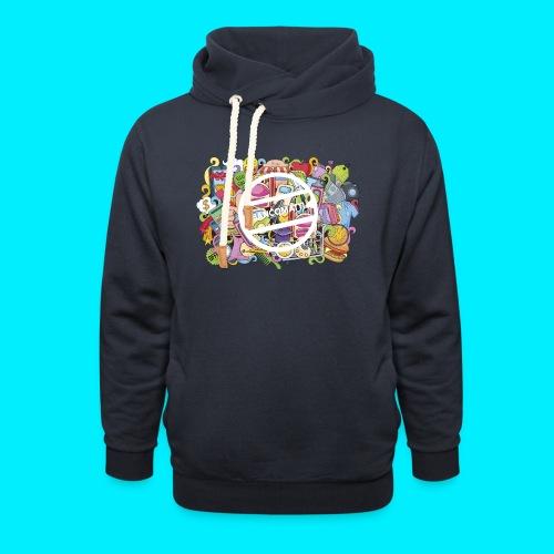 maglia logo doodle - Felpa con colletto alto