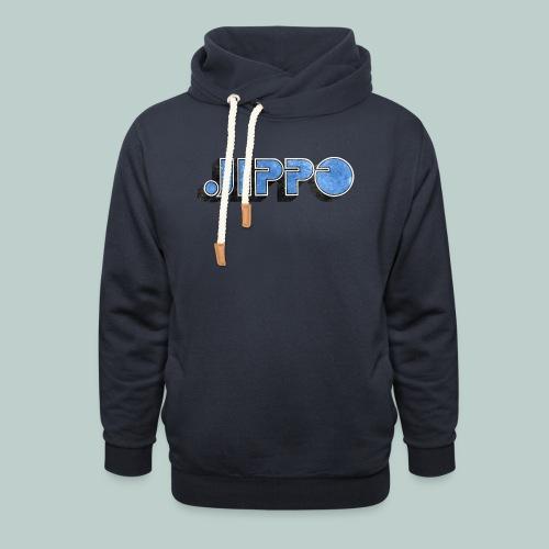 JIPPO LOGO (blue) - Huivikaulus huppari