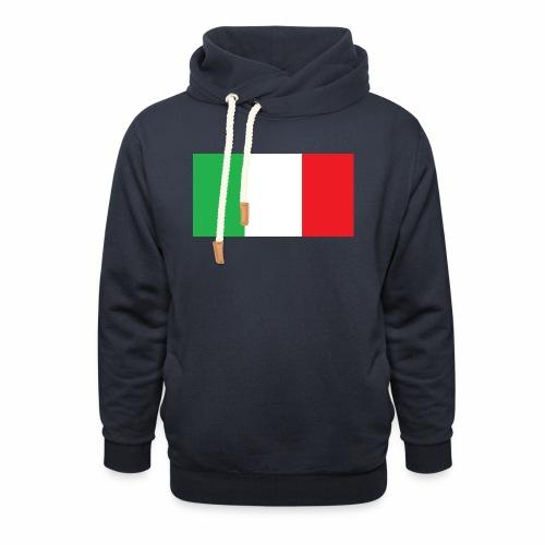 Italien Fußball - Schalkragen Hoodie