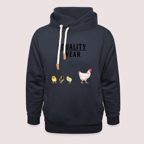 Small Chicken Edition - Shawl Collar Hoodie
