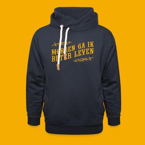 tshirt yllw 01 - Unisex sjaalkraag hoodie