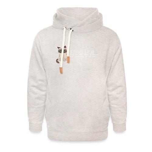 99bugs - white - Unisex sjaalkraag hoodie
