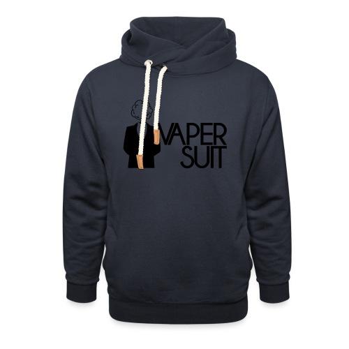 VAPER SUIT - Bluza z szalowym kołnierzem