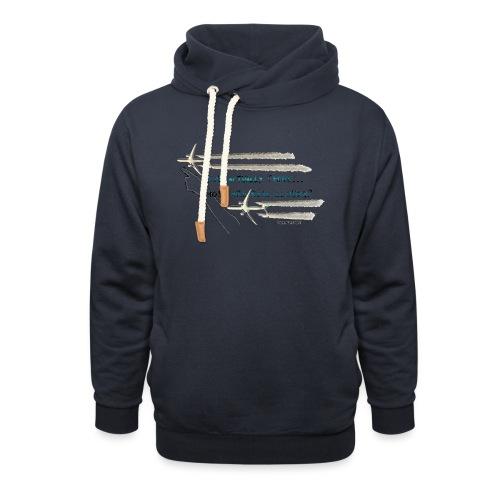 Skywatcher 02 - Unisex sjaalkraag hoodie