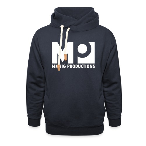 ManigProductions White Transparent png - Shawl Collar Hoodie