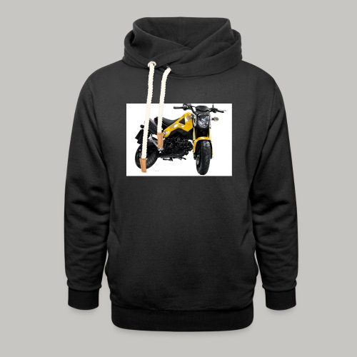 Grom Motorcycle (Monkey Bike) - Unisex Shawl Collar Hoodie