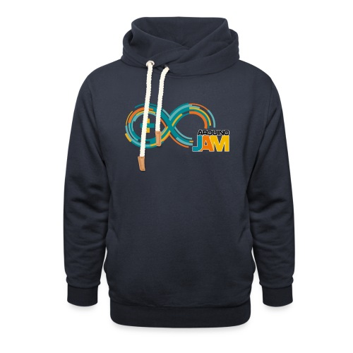 T-shirt Arduino-Jam logo - Unisex Shawl Collar Hoodie