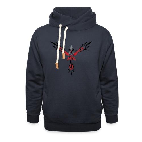 phoenix hoodie - Luvtröja med sjalkrage unisex